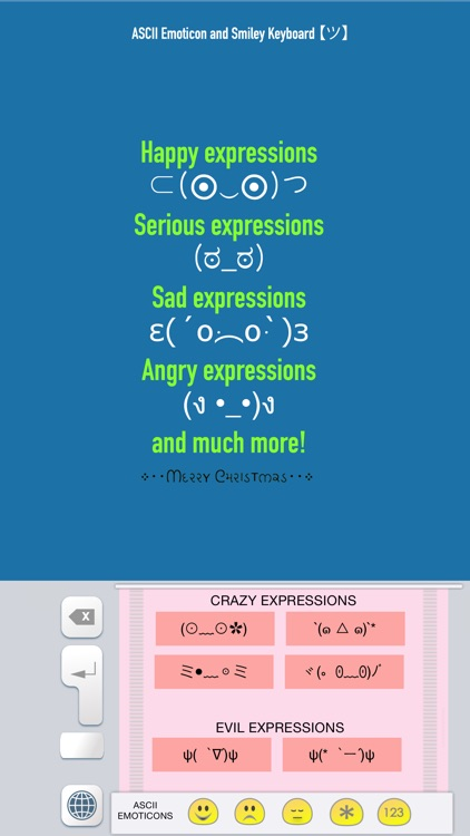 ASCII Emoticon & Smiley Keyboard (emoji emotes faces expressions and  emotions) by E-Learning Factory, S L