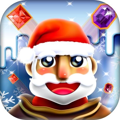 Santa Jewel Mania - Holiday Matchy Puzzle Saga FREE iOS App