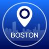 Guía de Boston Offline Mapa + Ciudad Navegador, Atracciones y Transportes