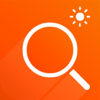 Magnifier Flash - A magnifying glass with light Icon
