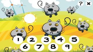 Actif! Jeux Pour Les Enfants Avec Les Animaux de la Ferme: Apprendre de Compter le Nombre 1-10Capture d'écran de 4