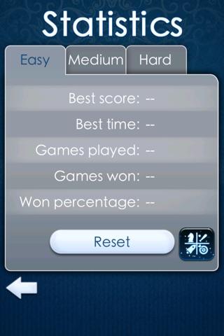 `FreeCell Solitaire: Basic screenshot 3