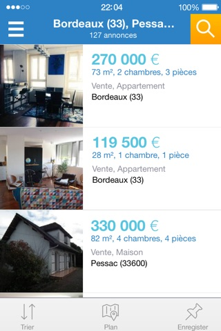 PAP immobilier vente location screenshot 2