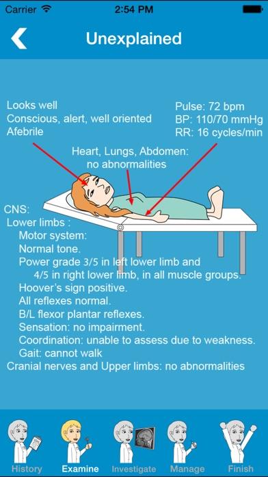 Screenshot #3 pour Prognosis : Neurology