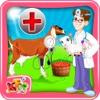 Chirurgie de la grossesse de chèvre - Vet Chien médecin et l'hôpital jeu de simulation pour les enfants