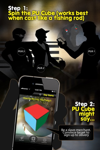 Daygame - pick up cube dare game from Hunter and Hornet comedy appisode series screenshot 2