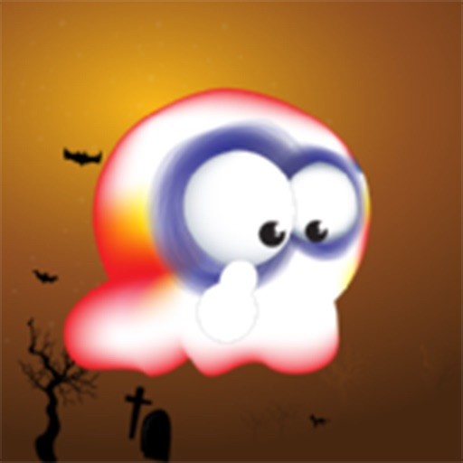 Flying Ghost - fun free games for boys & girls iOS App
