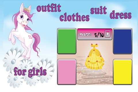 Games for girls colors screenshot 3