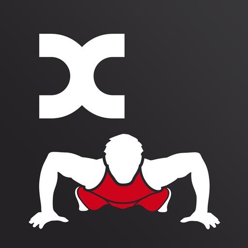 Calistix PushUps Pro –力量训练。每天锻炼,完美的胸与臂所需的身体体质指数计算和卡路里数量!