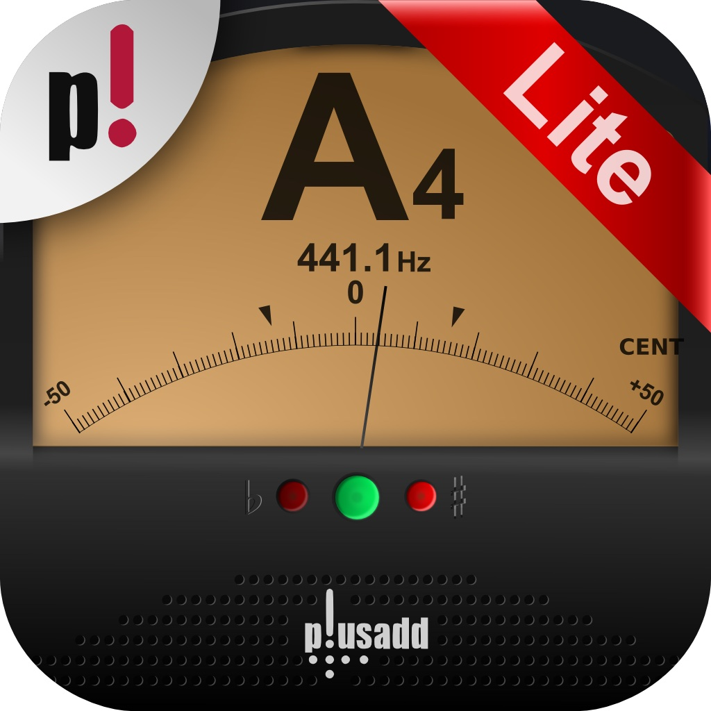 Tuner Lite by plusadd – The Ultimate Free Chromatic Tuner for Guitar, Bass, Ukulele  and Violin