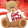 Get Well Cards with photo editor. Send get well soon greetings card and custom get well ecards with text and voice messages !
