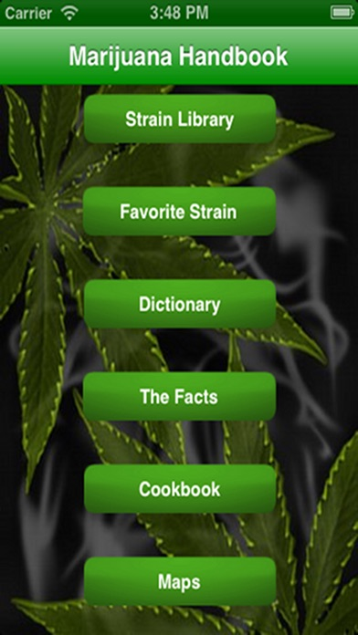 Marijuana Handbook Screenshots