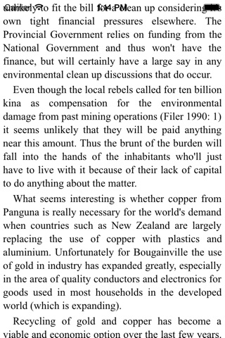 Bougainville's Panguna mine and the economics of environmentalism screenshot 3