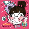 La Pluie Camera by Photoup - Cute Cartoon stickers Decoration - Stamps Frames and Effects Filter photo app