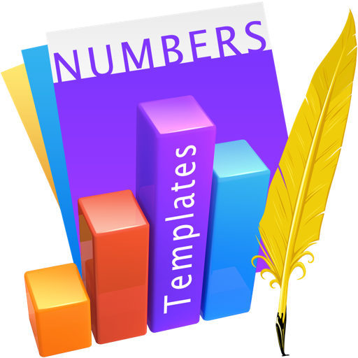 Templates for Numbers Design
