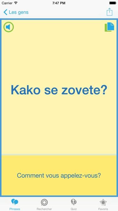 Guide de conversation de serbe – Voyagez aisément en SerbieCapture d'écran de 3