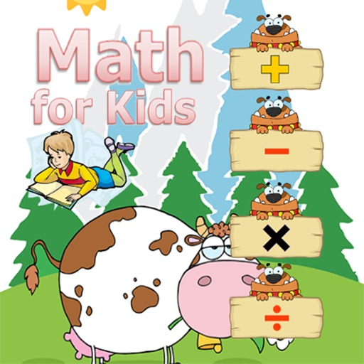 Math for kindergarten English number education for kids iOS App