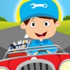 Toddler Milo,  Cars,  trains and planes puzzles