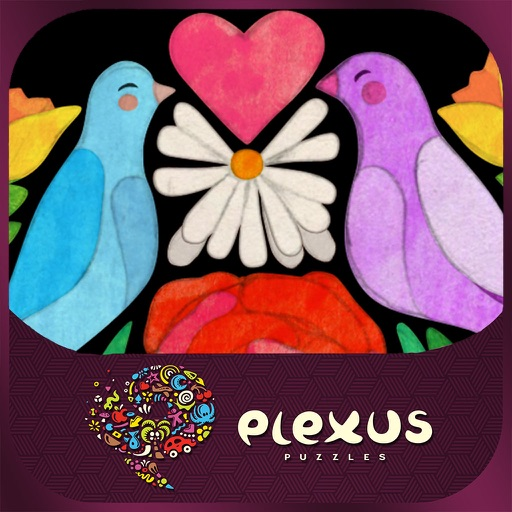 Heart in the Right Place, a PLEXUS Puzzle iOS App