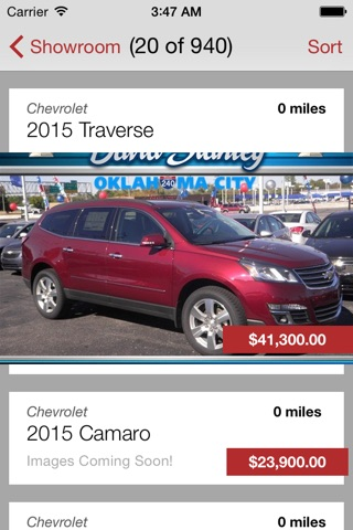 David Stanley Chevrolet screenshot 2