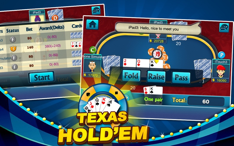 Screenshot #1 for Texas Hold'em - Daily Poke it!