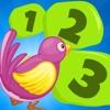 主動! 遊戲兒童學習計數,以1-10與寵物