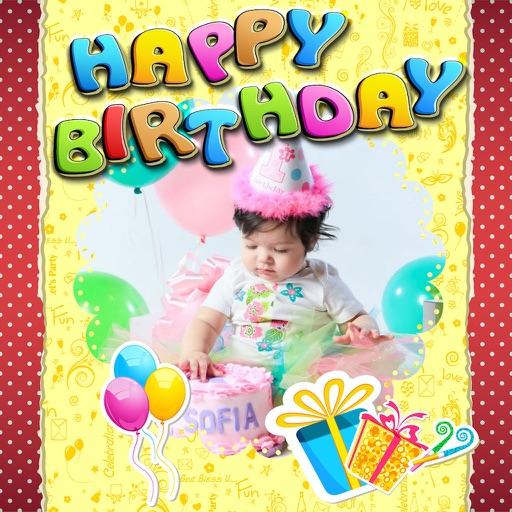 d7075b5a7c ... Happy Birthday Photos and Stickers iOS App ...
