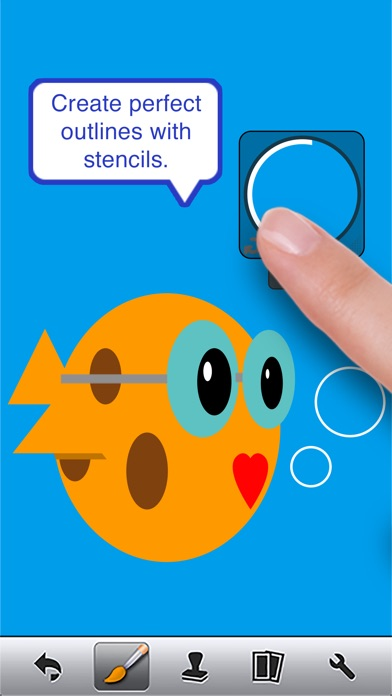 Screenshots of Doodle Buddy - Paint, Draw, Scribble, Sketch - It's Addictive! for iPhone