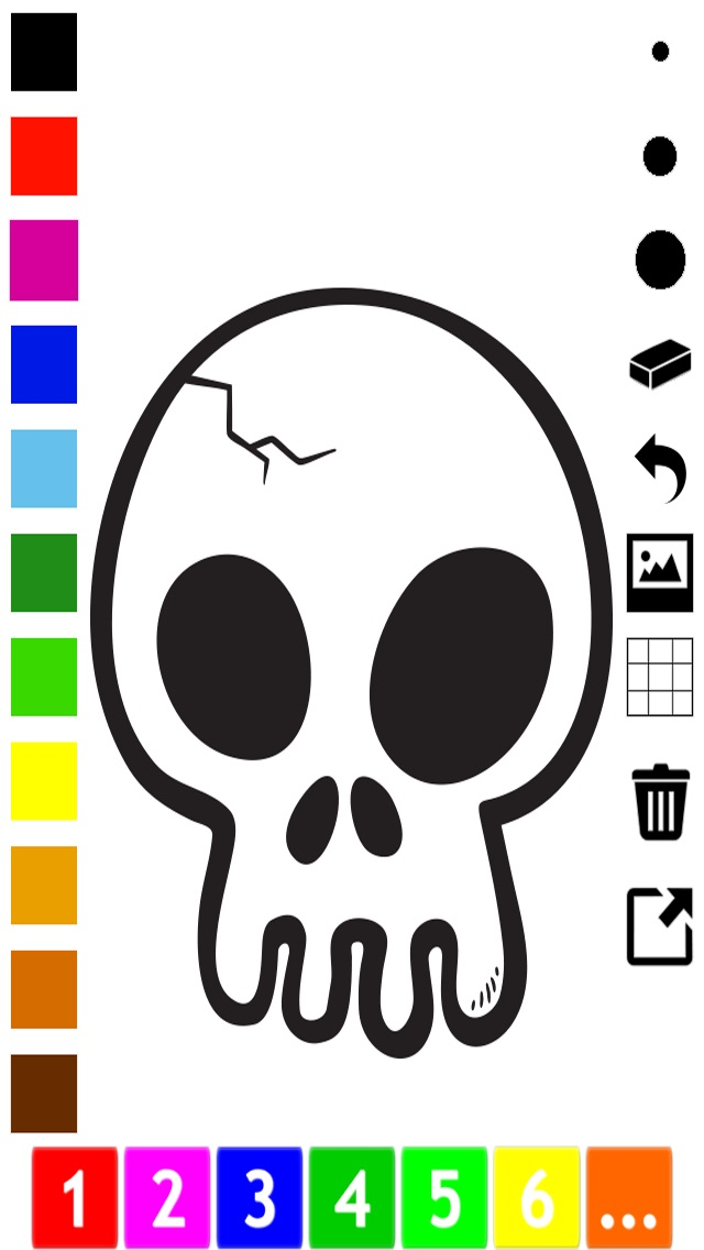 download A spooky Halloween coloring book for children apps 0