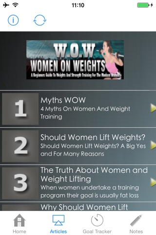 WOW:A Beginners Guide to Weights and Strength Training for the Modern Woman screenshot 4