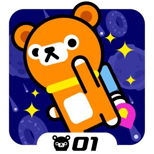 塌屁熊游宇宙:Space Rush – Tappi Bear【可爱躲避】