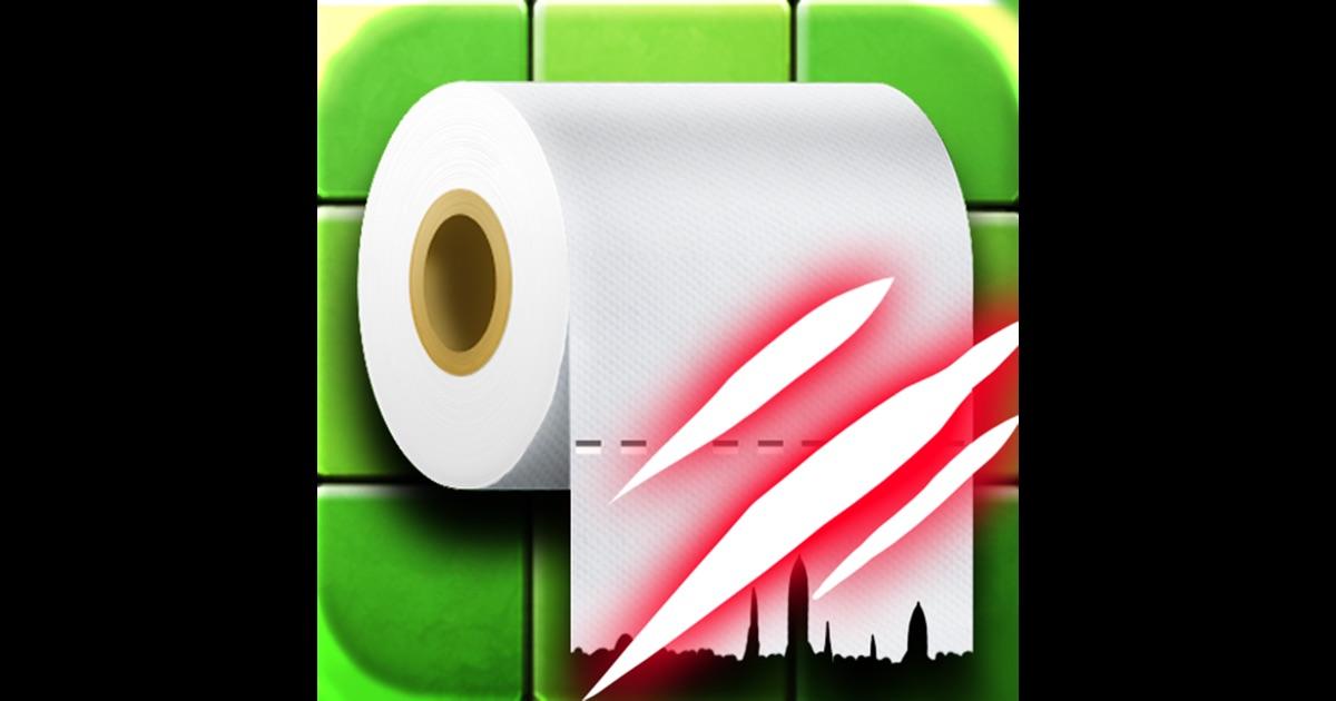 Toilet paper dragging on the app store for Best bathroom finder app