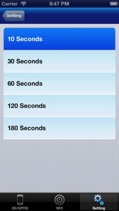 Bandwidth Pro Screenshots