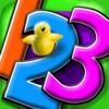 Весёлая Математика 123 Учитесь Считать Писать Числа Складывать и Вычитать Интерактивная образовательная Математическая игра для детей