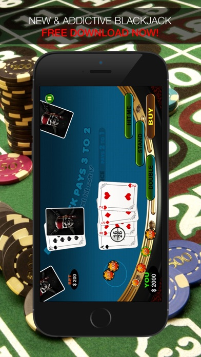 Aarghh! PIRATE BlackJack KING - Play the Atlantic City and Online Casino Card Game with Real Las Vegas Odds for Free !-1