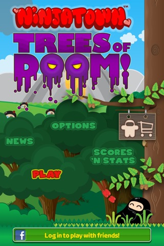 Ninjatown: Trees Of Doom! screenshot 1