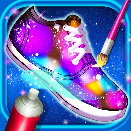 Galaxy shoes designer iOS App
