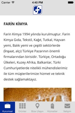 Farin Kimya screenshot 1