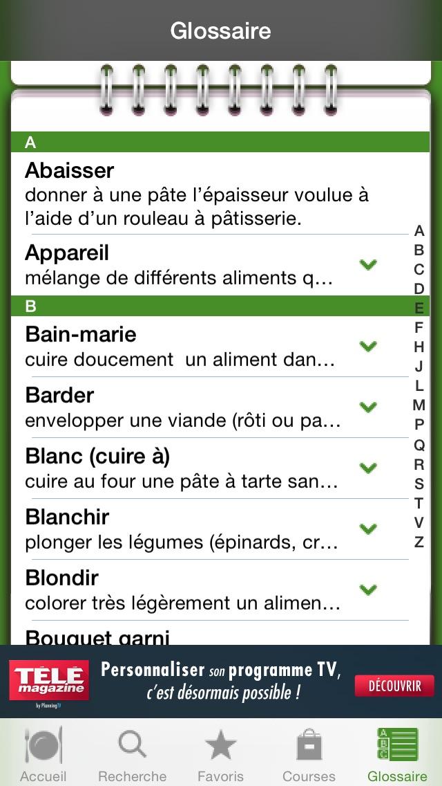 download iGourmand 101 recettes végétariennes apps 4