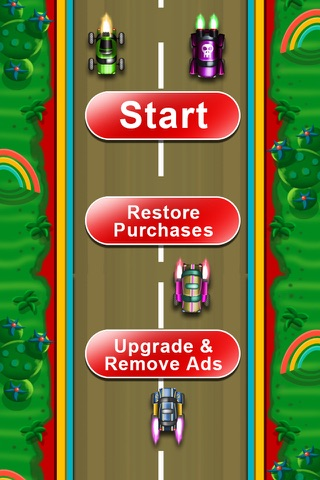 Speed Rockets - Best Cars Game Arcade screenshot 2