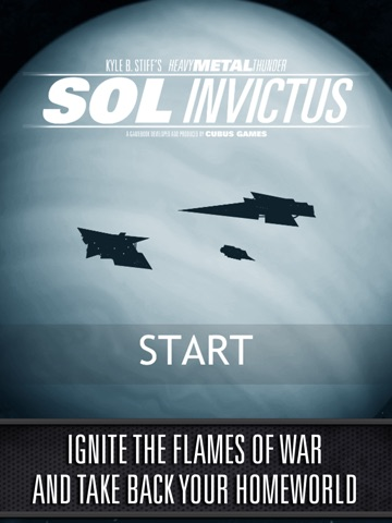 Screenshot #1 for Sol Invictus – Sequel to Interactive SciFi Gamebook Heavy Metal Thunder