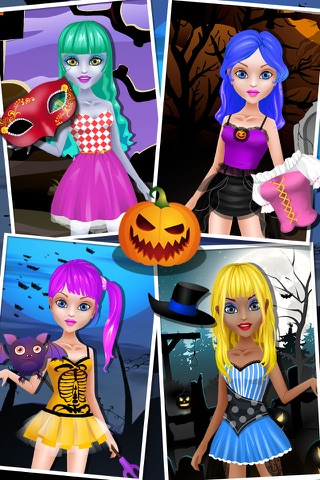 Monster Dress Up - girl games screenshot 2