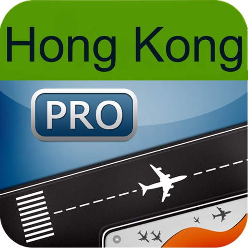 Hong Kong Airport + Flight Tracker Premium