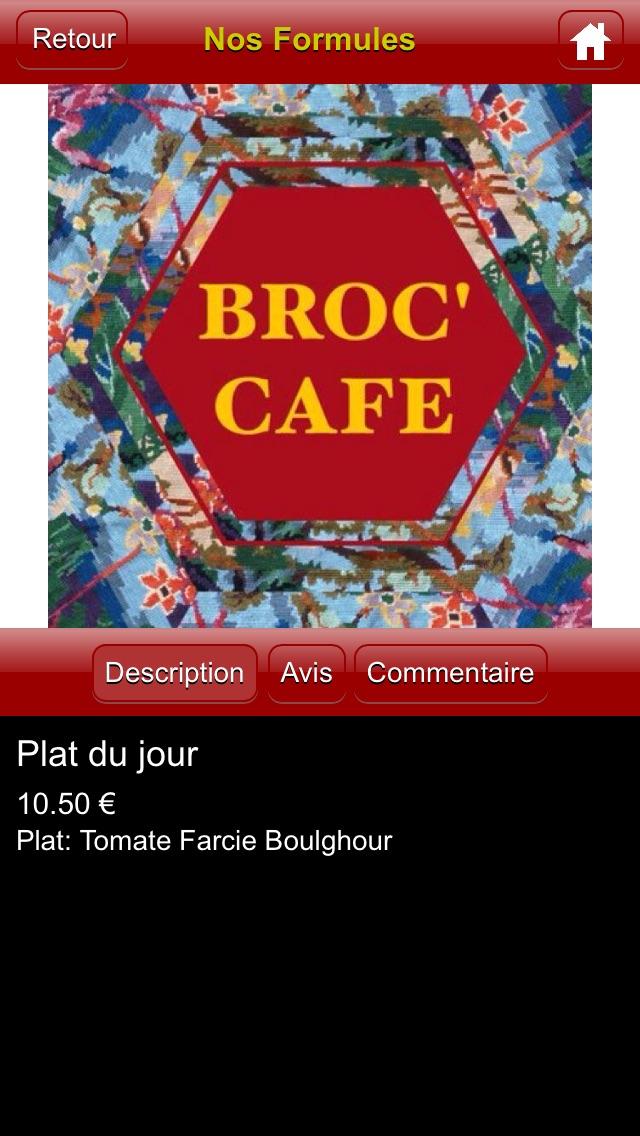 Broc' CafeCapture d'écran de 3