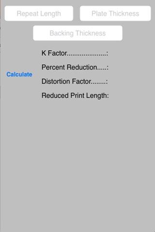 Flexo Plate Distortion screenshot 1