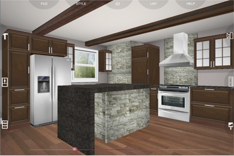 Download Eurostyle 3D kitchen planner app for iPhone and iPad