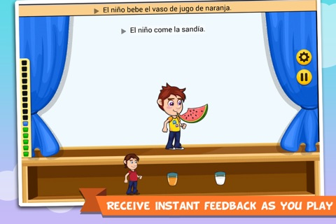 Learn Spanish with Stagecraft screenshot 2