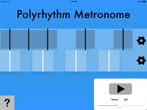 Polyrhythm Metronome screenshot 3
