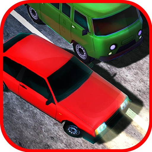 Russian Highway Traffic Racing iOS App