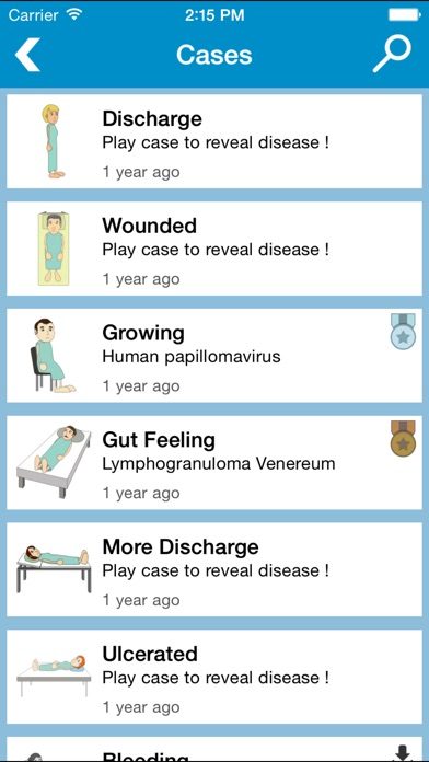 Screenshot #1 pour Prognosis : STDs